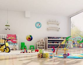 Realistic Toys Collection 3D