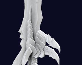 3D print model Rasaka s Fang