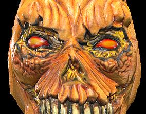 Possessed Pumpkin Mask 3D print model
