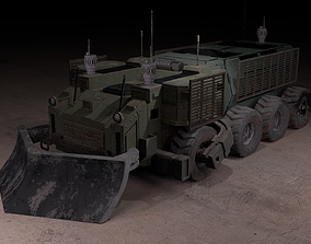 3D model Armored Vehicle high poly concept