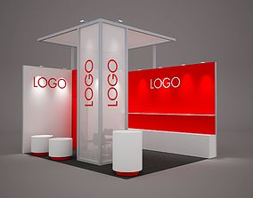 Exhibition stand octanorm maxima 5x4 m 3D model