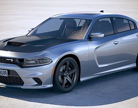 Dodge Charger SRT Hellcat 2019 3D