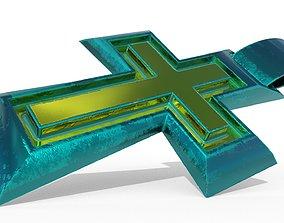 cross 3D model realtime bible
