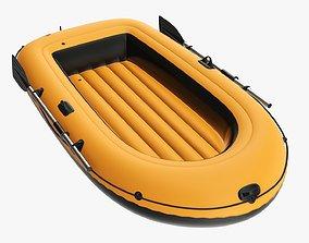 3D Boat inflatable 04 v2