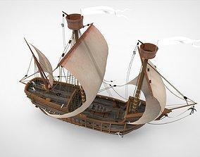 3D Siling Ship
