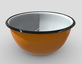 3D model Enamel Bowl 2