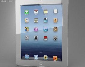 Apple The new iPad WiFi 4G iPad 3 3D asset