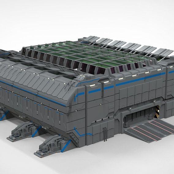 sci-fi architecture 1