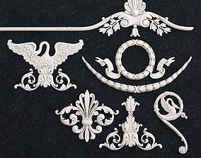 3D print model Decor pattern bird