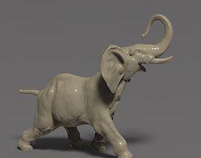 3D printable model Elephant statuette