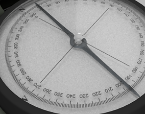 3D model Military Compass