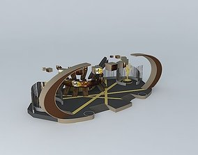 Television Academy Emmy Awards 3D model