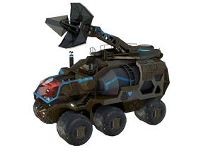 Antenna Vehicle 3D model