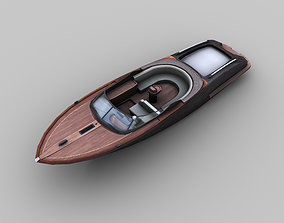 Yacht Luxury 3D asset
