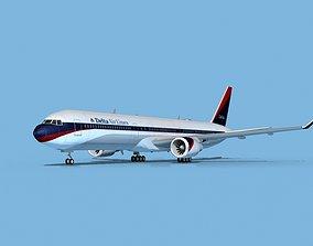 Boeing 767-400 Delta 2 3D