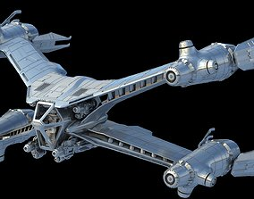 Babylon 5 StarFury Starfighter 3D STL Printable