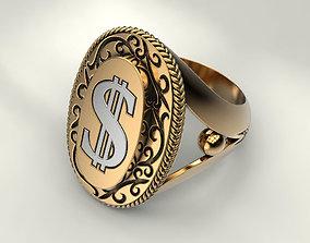 Ring dollar 3D printable model