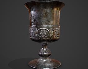 3D model Medieval Style Detailed Goblet
