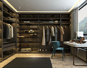 Dressing room luxury 3D model