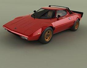 3D model Lancia Stratos HF