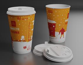 3D asset Macdonalds coffee cup
