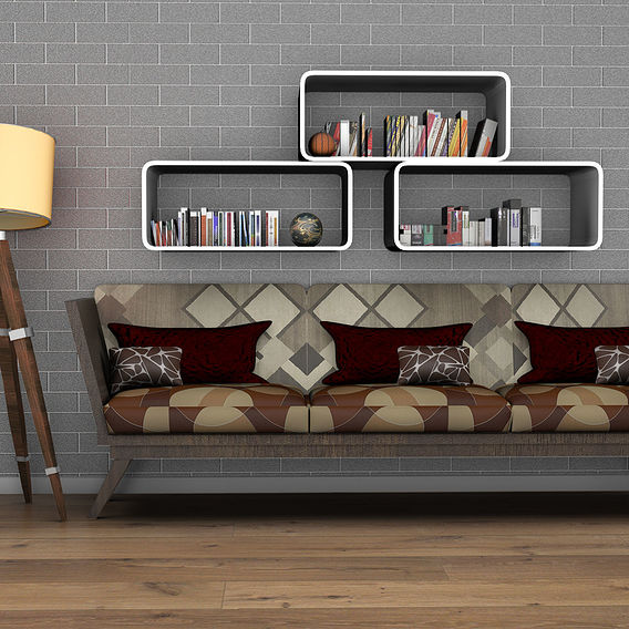 interior modeling  texturing lighting