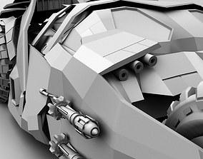 3D model bat mobile TUMBLER F2