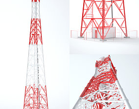 Communication Tower 01 am 3D