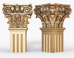 Classical Column for cnc 3D model