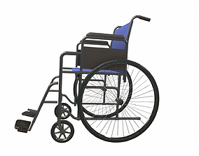 Wheelchair 2 3D
