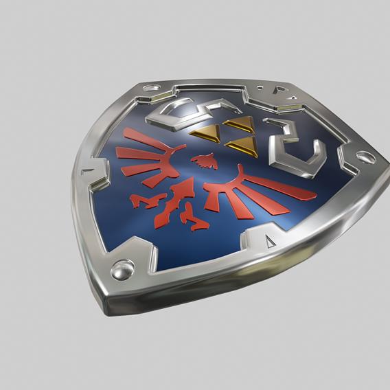 Legend of Zelda - Hylian Shield
