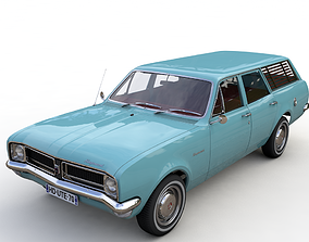HOLDEN HG KINGSWOOD WAGON 1970 3D model
