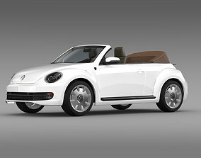 Karmann Beetle Cabrio 2014 3D model