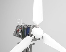 3D 30kW wind turbine
