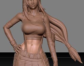 Tifa Lockhart Final Fantasy VII REMAKE 3D print model 1
