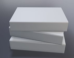 Three books 3D printable model