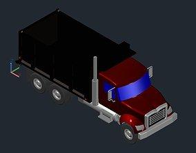 3D dumptruck Dump Truck