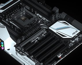 3D Motherboard Asus X99 Deluxe