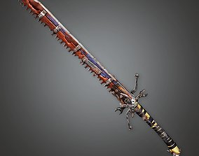 Post Apocalyptic Modified Sword - PAM - PBR 3D asset 1