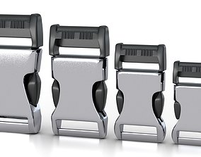 animated Set of 4 Buckles for Lanyards or similar 2