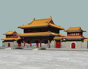 China Temple 1 3D model