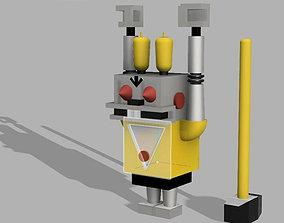 3D printable model The Robot-rabbit