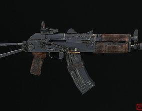 AKS-74U 3D asset realtime