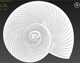 3D model Two Shells Suitable for embossing Hot Foil