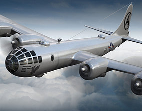 3D Boeing B-29 Superfortress Bomber ww-2