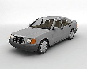 1985 Mercedes 190E Sedan 3D model