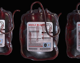 Blood Bag 3D model