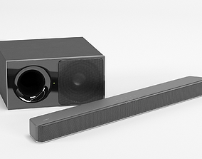 3D model Soundbar Sony HT-XF9000