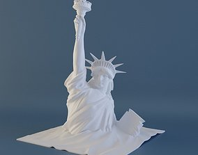 architecture 3D print model Statue of Liberty