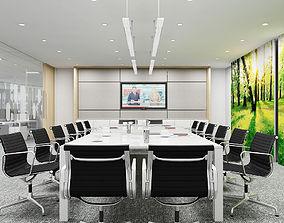 Full Office interior 11 3D